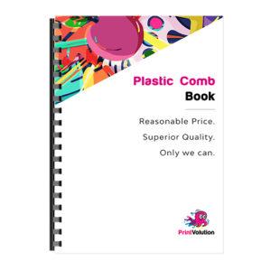 Plastic Comb Book