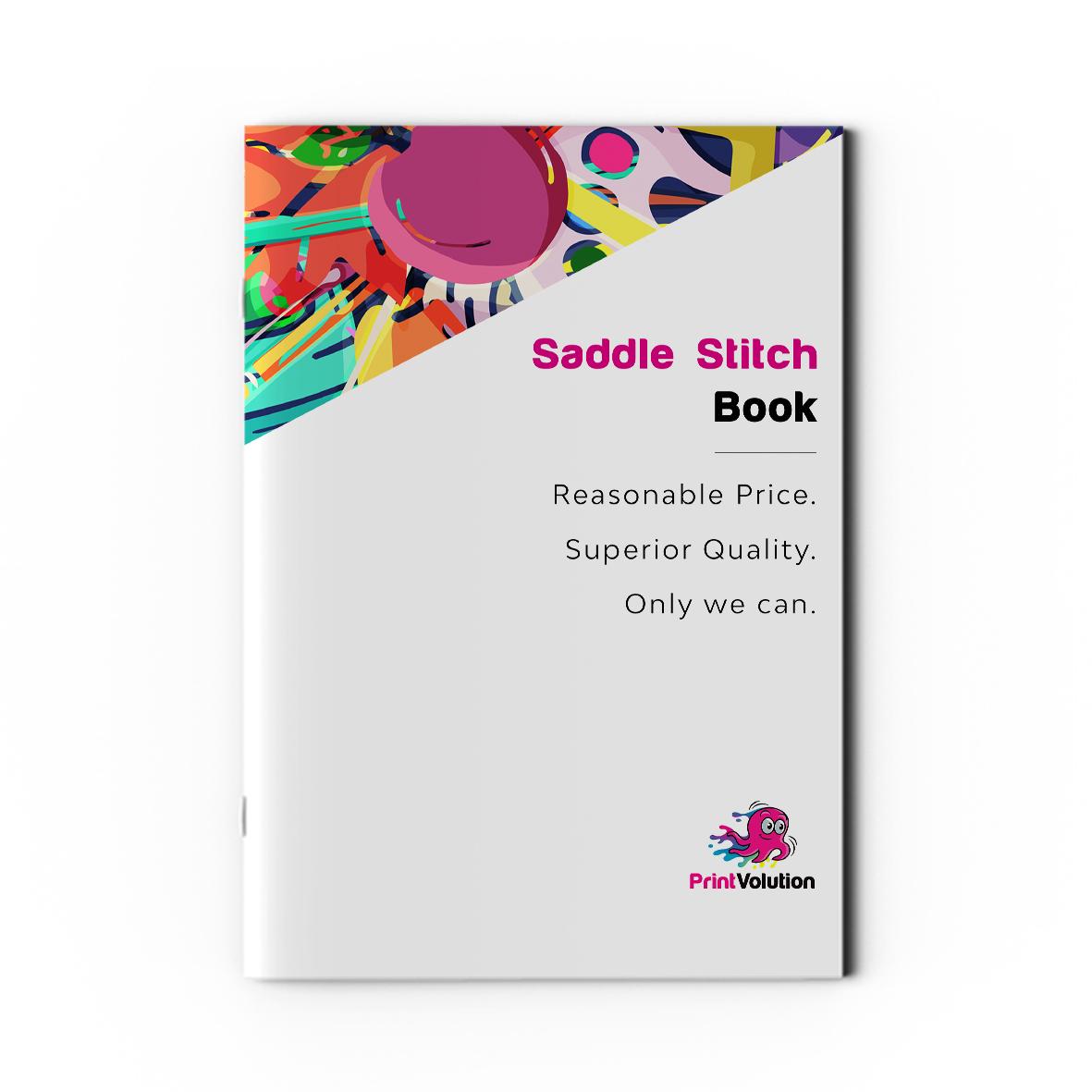 Saddle Stitch Book