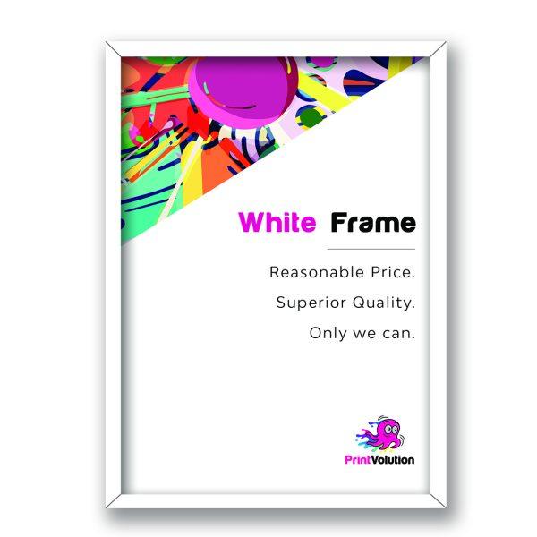 Poster - White Frame