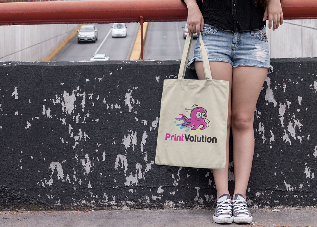 PrintVolution - View of Tote Bag
