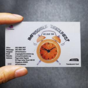 Translucent Card