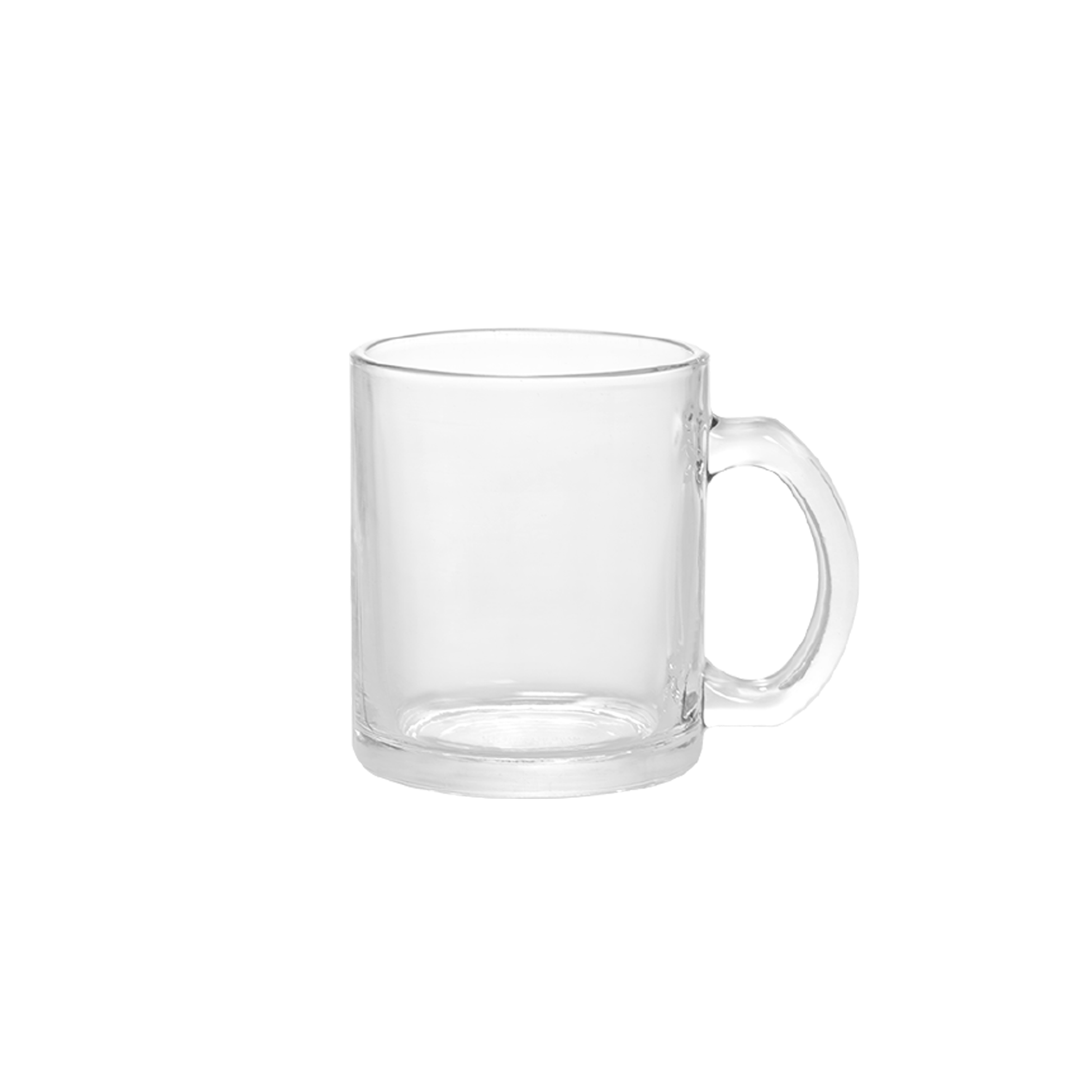 10 oz Clear Glass Beer Cup