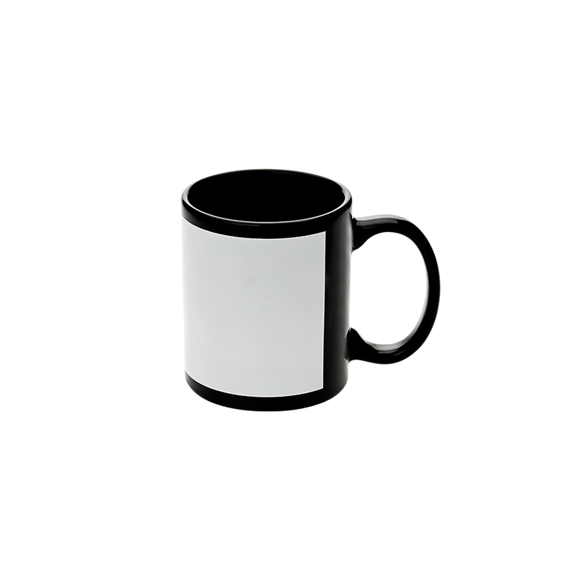 Black Cup w White Patch