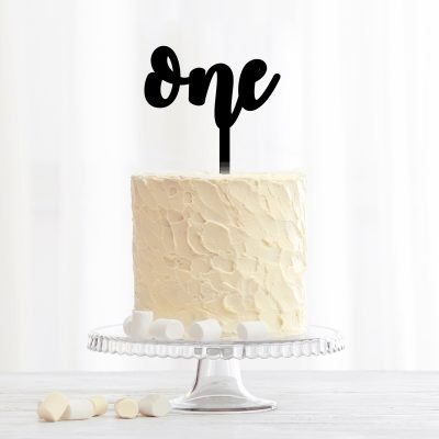 Custom Age Cake Topper