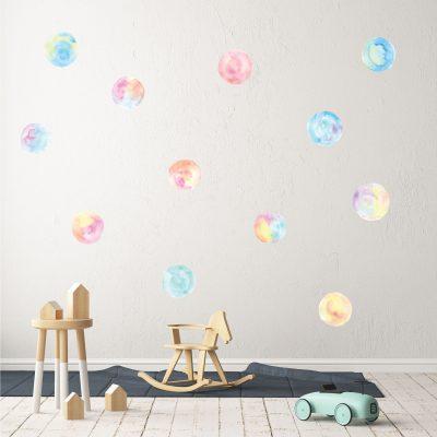 Polka Dots - Soft Pastel