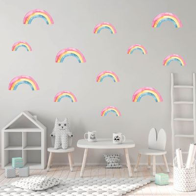 Rainbow Fabric Decal
