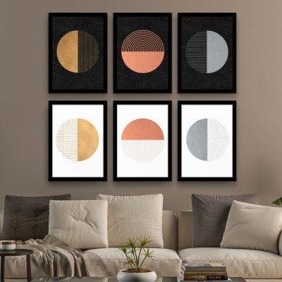 Circle - Framed Foil Poster