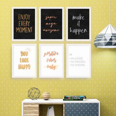 Quote - Framed Foil Poster