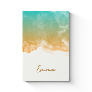 Notebook Watercolor Cover