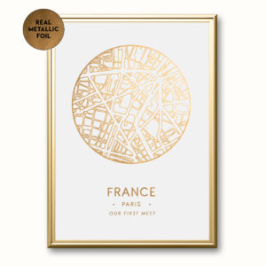 Circular-Topographic-Metallic-Foil-Map