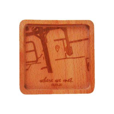 Wooden Coaster - Square