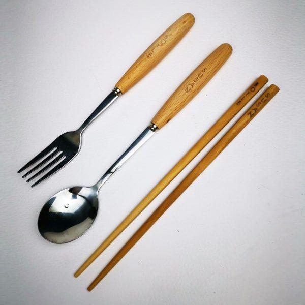 Bamboo Cutlery 01